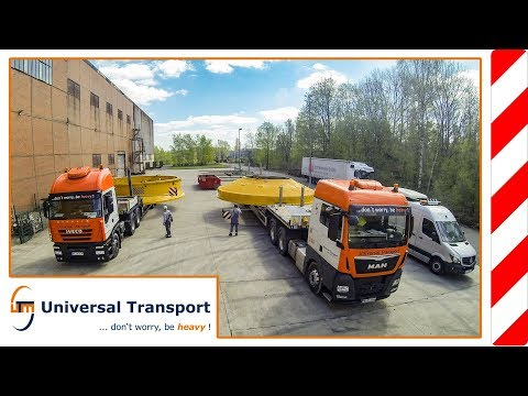 Universal Transport - with 7,60m diameter through the city