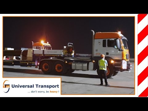 Universal Transport - Egypt: pipes for oil industry