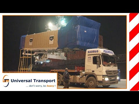 Universal Transport – From Sakarya,TR to Bata, GQ/via Derince port, TR
