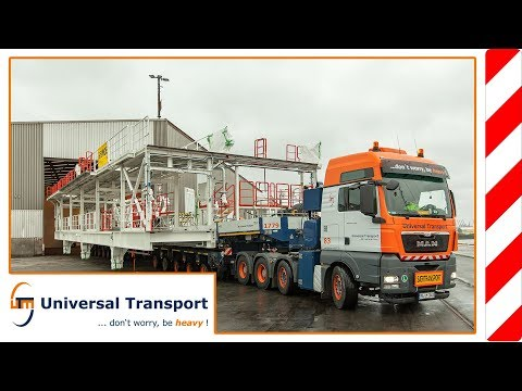 Universal Transport - Transport of a working station