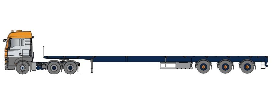 Vehicule de tip trailer , multi-extensibil