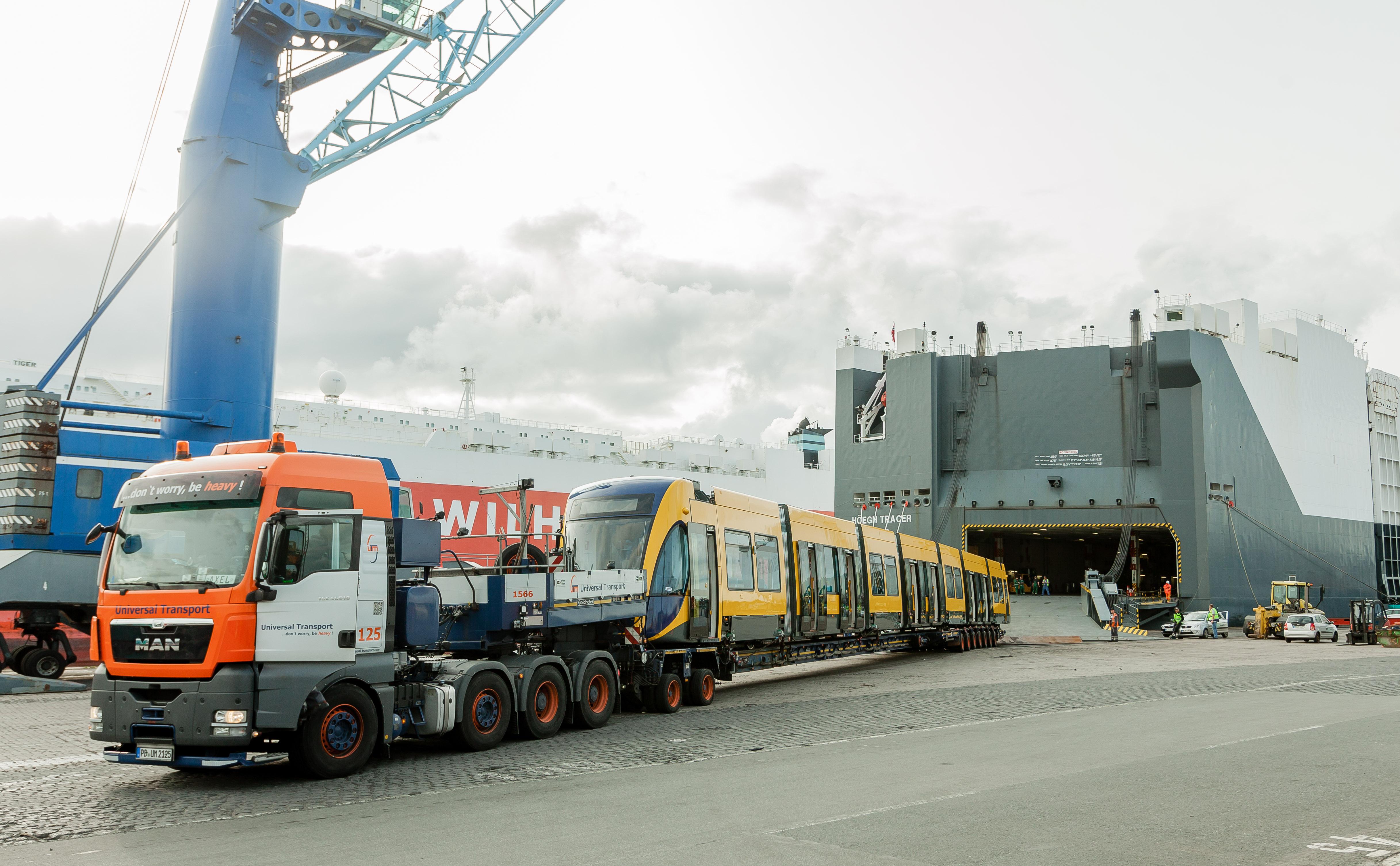 Universal Transport Schiene